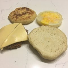 Frozen Breakfast Sandwiches (Cook Once)