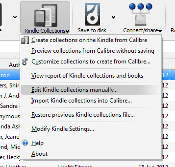 Kindle Collections with Calibre | Epiphenie com