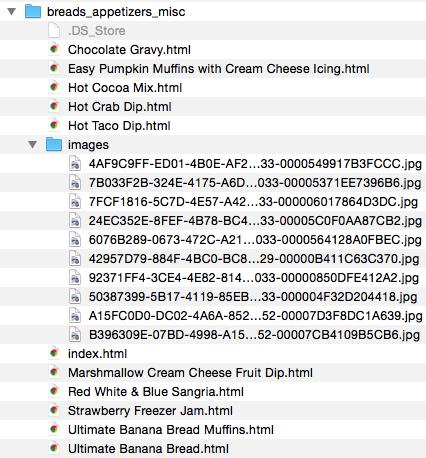 Recipe_FileStructure