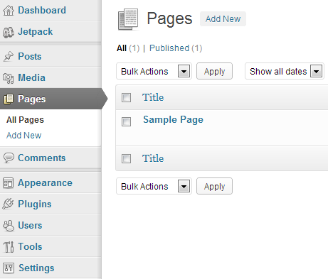 WP-Settings-Pages