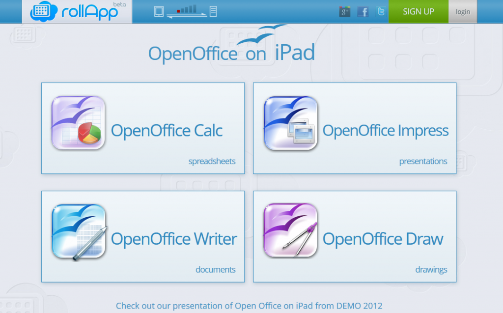 WorkOpenOffice