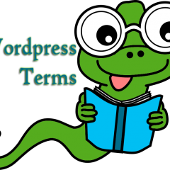 WordPress Terms [WordPress #1]