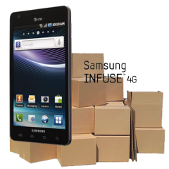 Return Samsung Infuse to Stock